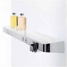 Термостат Hansgrohe Shower TabletSelect 700 13184400 (белое стекло)