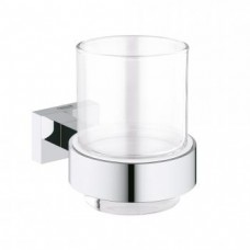 Стакан настенный Grohe Essentials Cube 40755001