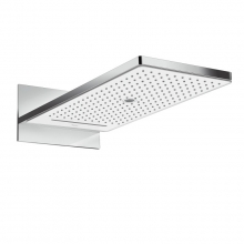 Верхний душ Hansgrohe Rainmaker Select 580 3jet 24001400 (белое стекло)