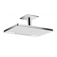 Верхний душ Hansgrohe Rainmaker Select 460 2jet 24004400 (белое стекло)