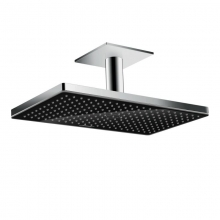 Верхний душ Hansgrohe Rainmaker Select 460 1jet 24002600 (черное стекло)